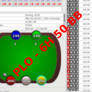 PLO – 6H 50 BB (POT)